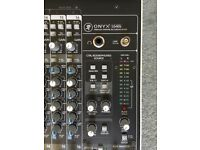 Mackie Onyx 1640i 16 channel firewire recording mixer NEAR MINT