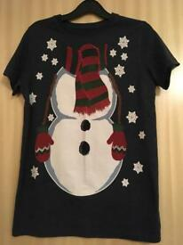 Next Christmas t shirt size 12yrs