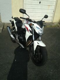 HONDA CB500F/FA ABS WHITE, Low miles, Excellent condition