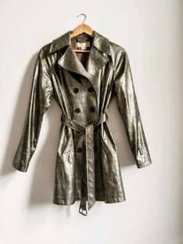 Michael Kors Water-Resistant Trench Coat