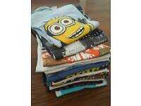 17 Boys t- shirts age 6-8 different brands for sale
