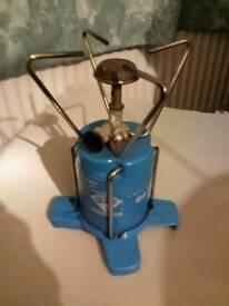 Potable gas cooker