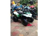 Apache quad 100cc fully running