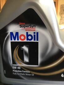 Mobil 1 OW-40 Car Engine Oil
