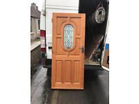 Wooden external door