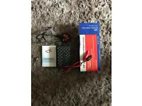 MOTORCYCLE BATTERY CHARGER / TRICKLE CHARGER BRAND NEW