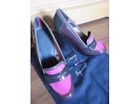 Tommy Hilfiger new shoe lacq leather from USA limited edition