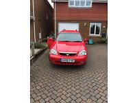 Chevrolet Lacetti Sport 1.8 petrol red estate