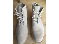 Clarke suede boots. Size 9
