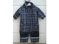 ALL IN ONE WARM OUTDOOR SUIT - AGE 9 MONTHS PLUS