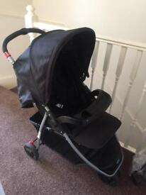 Baby start 3 wheeler buggy with rain cover