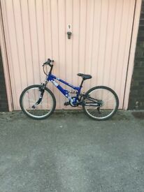 Apollo sand storm blue bike