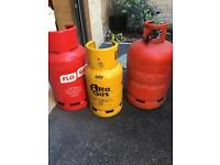 Gas Bottles (empty) - All Three or Separate.