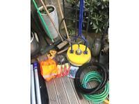 Driveway patio cleaning Honda GX390 petrol jet wash kit