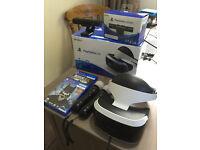 Playstation VR, Camera, Move controls, 2 Games