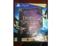 Ps3 Harry potter book ok spells game