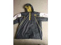 Canterbury boys waterproof jacket vgc size 8