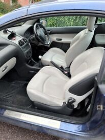 image for Peugeot, 206, Convertible, 2004, Manual, 1587 (cc), 2 doors