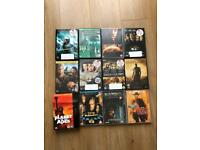 74 film dvds in good condition