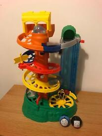 Thomas the tank engine and friends - my first rail spiral roller