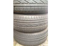 Continental tyres x4