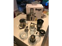 Sage Nutri Juicer Plus BJE520UK (Under 1 month old, only used for 1 week) Like New