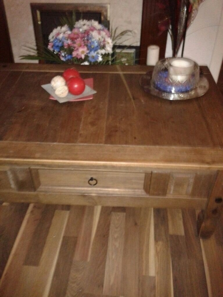 Pine tablein Coatbridge, North LanarkshireGumtree - Pine table Solid pine table would be a great addition to any living room or conservatory £40 ono
