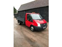 2012 Ford Transit Tipper ,1 owner Euro 5