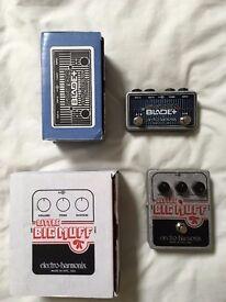 Electro Harmonix EHX Switchblade and Little Big Muff