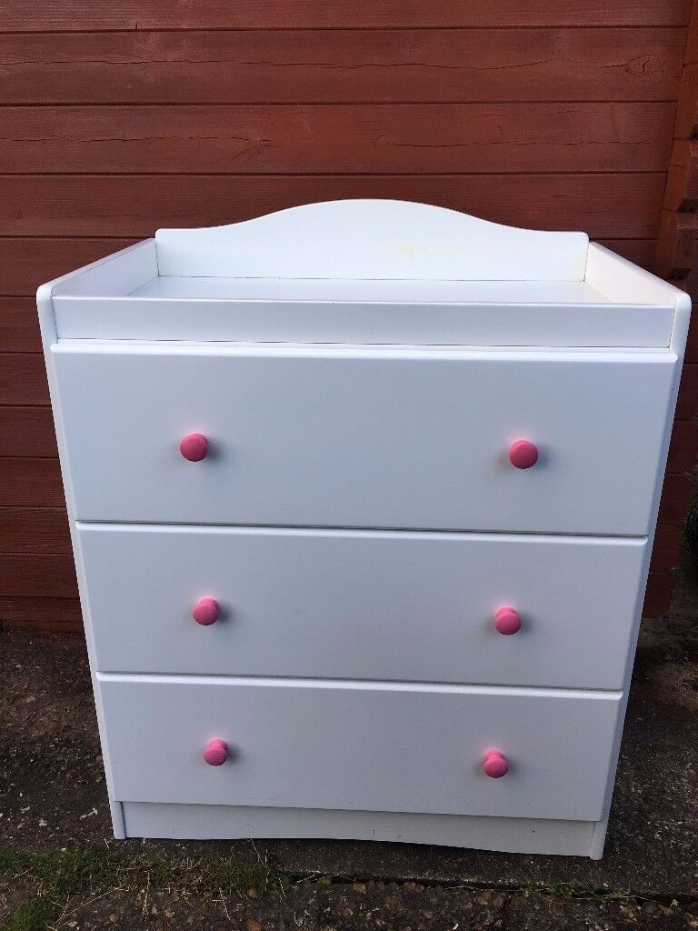 Lovely Mothercare Chest of Drawers Changing Unit