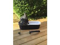 Out n about nipper carrycot for double buggy