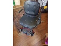 Immaculate condition SHOPRIDER power chair. Only used outside once.