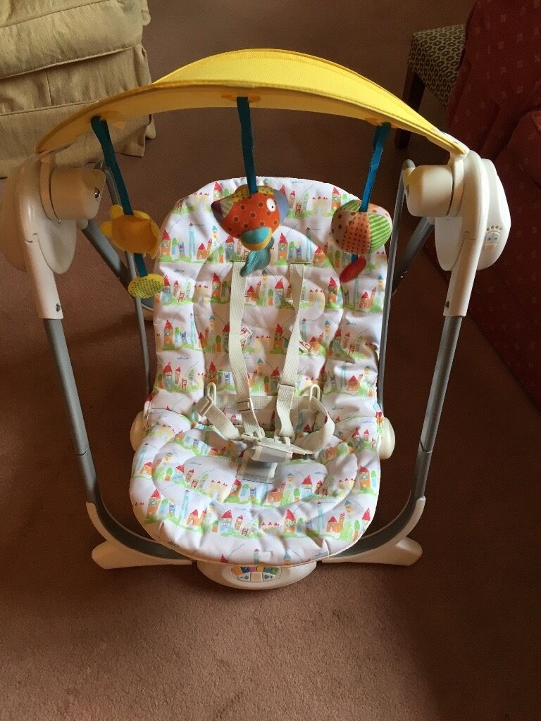 Chicco Polly Baby Swing In Box With Instructions In Somerset Gumtree