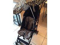 Baby k pushchair & changing bag