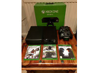 Xbox One 500GB + 2 Controllers + 4 Games (Incl. Call of Duty: Infinate Warfare).
