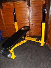 Powertec olympicheavy duty incline decline bench press