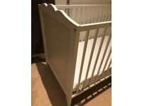 """Baby """"child"""" cot """"bed"""" with mattress like new"""