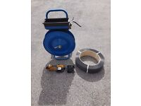 Strapex STB 63 Banding Strapping Weld Seal Tool, Stand & Strapping reel