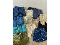 Boys shorts bundle 3-4 years