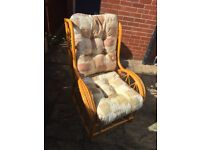Two cane conservatory chairs IMMACULATE CONDITION!!!