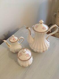 Charisma bone china tea pot, sugar bowl and milk jug . Excellent condition