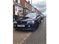 Subaru wrx uk 2000 modified