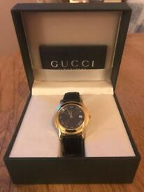 Vintage Gold Plated Gucci Men's Watch