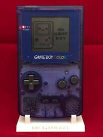 Gameboy colour console - new lots of designs available