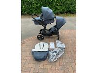 Mothercare Genie Tandem/Double pushchair