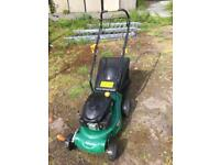 Lawn mower, grass cutter 40cm petrol self propelled