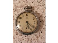 Smiths empire silver pocket watch