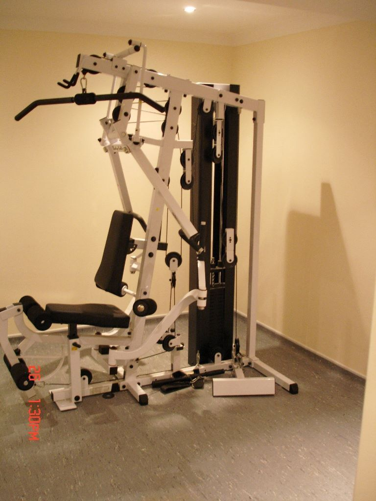 Body solid multi gym believed to be an exm in