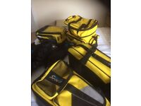 motorcycle luggage kit.