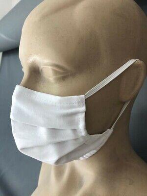 Face Mouth Mask 100% Cotton Reusable Washable non surgical Gym Bus Compulsory